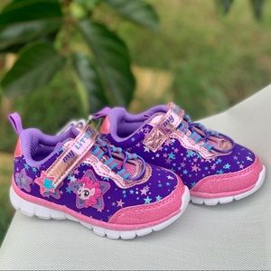 My Little Pony Lighted Bungee Strap Athletic Shoe